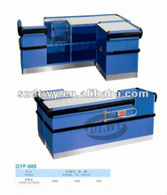 Supermarket equipments of checkout counters and cashier counter